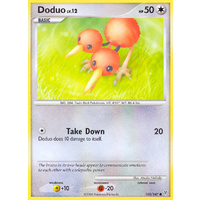 Doduo 102/147 Platinum Supreme Victors Common Pokemon Card NEAR MINT TCG