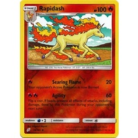 Rapidash 18/181 SM Team Up Reverse Holo Uncommon Pokemon Card NEAR MINT TCG