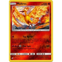 Moltres 19/181 SM Team Up Reverse Holo Rare Pokemon Card NEAR MINT TCG