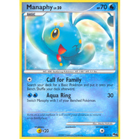 Manaphy 3/17 POP Series 6 Holo Rare Pokemon Card NEAR MINT TCG