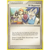 TV Reporter 11/17 POP Series 2 Uncommon Trainer Pokemon Card NEAR MINT TCG