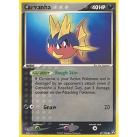 Carvanha 47/108 EX Power Keepers Common Pokemon Card NEAR MINT TCG