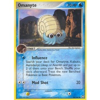 Omanyte 56/108 EX Power Keepers Common Pokemon Card NEAR MINT TCG