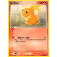 Torchic 67/108 EX Power Keepers Common Pokemon Card NEAR MINT TCG