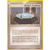 Drake's Stadium 72/108 EX Power Keepers Uncommon Trainer Pokemon Card NEAR MINT TCG
