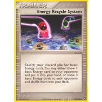 Energy Recycle System 73/108 EX Power Keepers Uncommon Trainer Pokemon Card NEAR MINT TCG