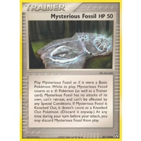 Mysterious Fossil 85/108 EX Power Keepers Common Trainer Pokemon Card NEAR MINT TCG