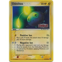 Chinchou 49/108 EX Power Keepers Reverse Holo Common Pokemon Card NEAR MINT TCG