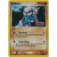 Meditite 55/108 EX Power Keepers Reverse Holo Common Pokemon Card NEAR MINT TCG