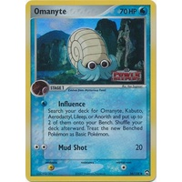 Omanyte 56/108 EX Power Keepers Reverse Holo Common Pokemon Card NEAR MINT TCG