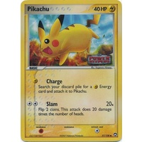 Pikachu 57/108 EX Power Keepers Reverse Holo Common Pokemon Card NEAR MINT TCG