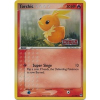 Torchic 67/108 EX Power Keepers Reverse Holo Common Pokemon Card NEAR MINT TCG