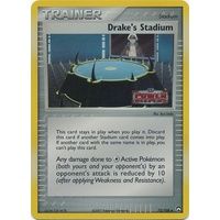 Drake's Stadium 72/108 EX Power Keepers Reverse Holo Uncommon Trainer Pokemon Card NEAR MINT TCG