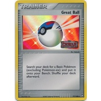 Great Ball 77/108 EX Power Keepers Reverse Holo Uncommon Trainer Pokemon Card NEAR MINT TCG