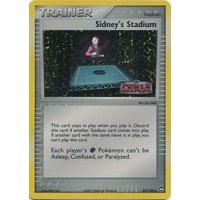 Sidney's Stadium 82/108 EX Power Keepers Reverse Holo Uncommon Trainer Pokemon Card NEAR MINT TCG