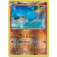 Wooper 38/98 XY Ancient Origins Reverse Holo Common Pokemon Card NEAR MINT TCG