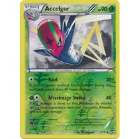 Accelgor 9/111 XY Furious Fists Reverse Holo Uncommon Pokemon Card NEAR MINT TCG