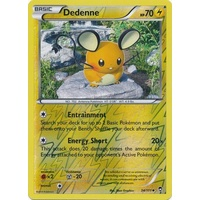 Dedenne 34/111 XY Furious Fists Reverse Holo Uncommon Pokemon Card NEAR MINT TCG