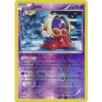 Jynx 37/111 XY Furious Fists Reverse Holo Rare Pokemon Card NEAR MINT TCG