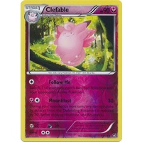 Clefable 71/111 XY Furious Fists Reverse Holo Uncommon Pokemon Card NEAR MINT TCG