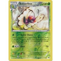 Butterfree 3/106 XY Flashfire Reverse Holo Rare Pokemon Card NEAR MINT TCG