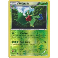 Roserade 9/106 XY Flashfire Reverse Holo Uncommon Pokemon Card NEAR MINT TCG