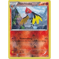 Fletchinder 17/106 XY Flashfire Reverse Holo Uncommon Pokemon Card NEAR MINT TCG