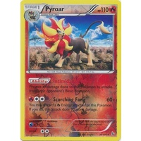 Pyroar 20/106 XY Flashfire Reverse Holo Rare Pokemon Card NEAR MINT TCG