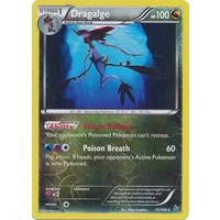 Dragalge 71/106 XY Flashfire Reverse Holo Rare Pokemon Card NEAR MINT TCG