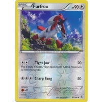 Furfrou 87/106 XY Flashfire Reverse Holo Uncommon Pokemon Card NEAR MINT TCG