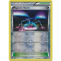 Magnetic Storm 91/106 XY Flashfire Reverse Holo Uncommon Trainer Pokemon Card NEAR MINT TCG