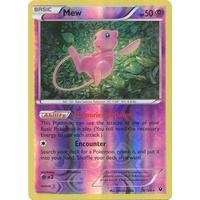 Mew 29/124 XY Fates Collide Reverse Holo Rare Pokemon Card NEAR MINT TCG