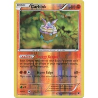 Carbink 49/124 XY Fates Collide Reverse Holo Rare Pokemon Card NEAR MINT TCG