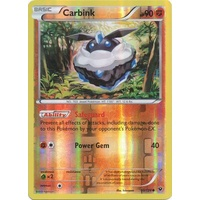 Carbink 50/124 XY Fates Collide Reverse Holo Common Pokemon Card NEAR MINT TCG