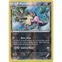 Mandibuzz 58/124 XY Fates Collide Reverse Holo Rare Pokemon Card NEAR MINT TCG