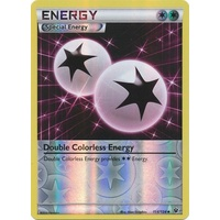 Double Colorless Energy 114/124 XY Fates Collide Reverse Holo Uncommon Pokemon Card NEAR MINT TCG
