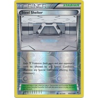 Steel Shelter 105/119 XY Phantom Forces Reverse Holo Uncommon Trainer Pokemon Card NEAR MINT TCG