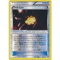 Trick Coin 108/119 XY Phantom Forces Reverse Holo Uncommon Trainer Pokemon Card NEAR MINT TCG