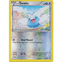 Swablu 73/108 XY Roaring Skies Reverse Holo Common Pokemon Card NEAR MINT TCG