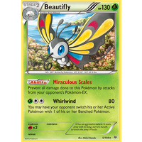 Beautifly 5/108 XY Roaring Skies Holo Rare Pokemon Card NEAR MINT TCG