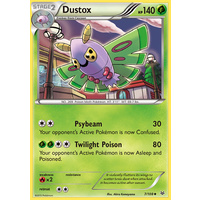 Dustox 7/108 XY Roaring Skies Uncommon Pokemon Card NEAR MINT TCG