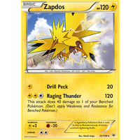 Zapdos 23/108 XY Roaring Skies Rare Pokemon Card NEAR MINT TCG