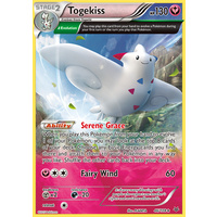 Togekiss 46/108 XY Roaring Skies Holo Rare Pokemon Card NEAR MINT TCG