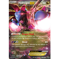Hydreigon EX 62/108 XY Roaring Skies Holo Ultra Rare Pokemon Card NEAR MINT TCG