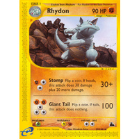 Rhydon 29/144 E-Series Skyridge Rare Pokemon Card NEAR MINT TCG
