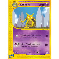 Kadabra 69/144 E-Series Skyridge Common Pokemon Card NEAR MINT TCG