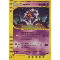 Starmie H28/H32 E-Series Skyridge Holo Rare Pokemon Card NEAR MINT TCG