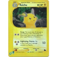 Raichu 27/144 E-Series Skyridge Reverse Holo Rare Pokemon Card NEAR MINT TCG