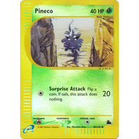 Pineco 85/144 E-Series Skyridge Reverse Holo Common Pokemon Card NEAR MINT TCG