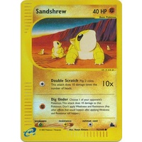 Sandshrew 92/144 E-Series Skyridge Reverse Holo Common Pokemon Card NEAR MINT TCG